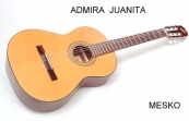 Admira  Juanita, Guitarra  Española  Clásica, Cuerdas  Nylon
