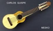 Carlos Quispe T. Charango Econ sin Nacar, Incluye Funda # 32