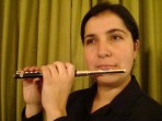 Flauta Piccolo Resina Fontai
