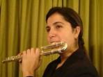 Flauta Traversa Curva Silver Fontai